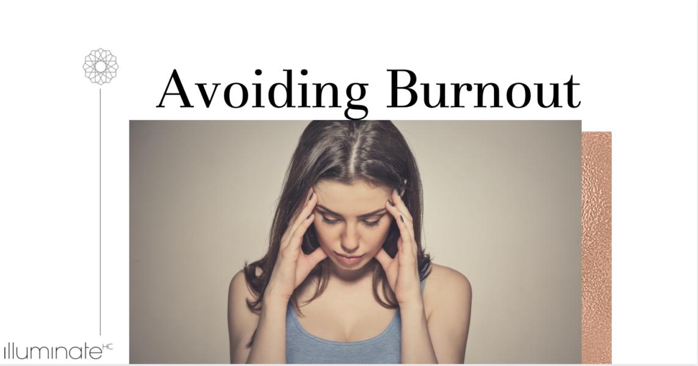 avoid burnout in nursing jobs